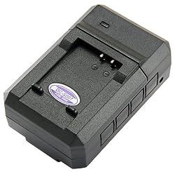 STK's Panasonic Lumix CGA-S007 DE-A45 Battery Charger - for Panasonic DMC-TZ3, Panasonic DMC-TZ5, Panasonic DMC-TZ1, Panasonic DMC-TZ4, Panasonic DMC-TZ2 from STK/SterlingTek