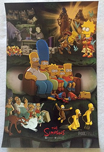 the-simpsons-11x17-original-promo-tv-poster-sdcc-2015-san-diego-comic-con-mint