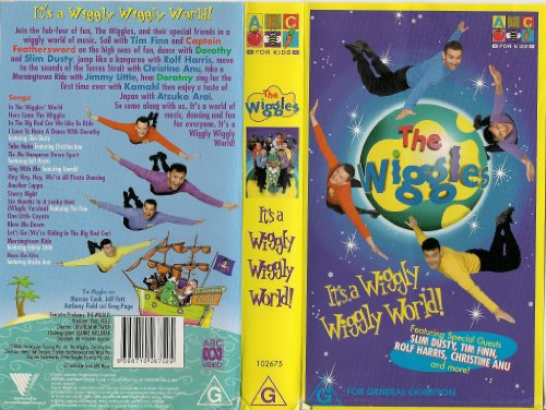 The Wiggles  It s A Wiggly Wiggly World - Live In Concert  VHS The Wiggles Wiggly Wiggly World Vhs