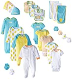 Gerber Unisex-Baby Newborn World's Cutest Baby Gift Set, 26 Piece