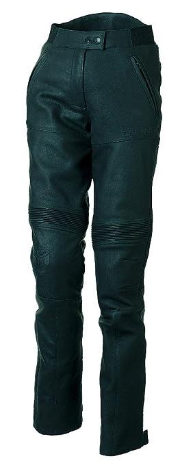 BERING CUP190RGT5 Pantalon Moto pour Femme, Noir, XXL
