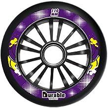 KL Skate Pu Wheelinline Wheelroller Skate Wheel 110mm24 in Black for Set 8pcs