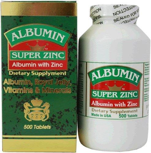 Albumin Super Zinc (500T)