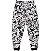 Disney Girls' Trousers (TC 2810_Black_8 - 9 years)