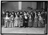 Photo Reprint NATIONAL LEAGUE FOR WOMEN'S SERVICE. SEATED: MRS. IRA KIP, EAST ORANGE, NJ; MRS. EDWARD R. HEWITT, NY;