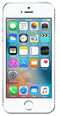 Apple iPhone SE (Silver, 64GB)