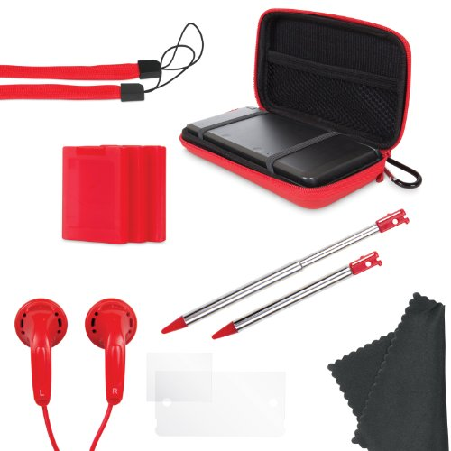 Nintendo 3DS 11-In-1 Starter Pack - Red