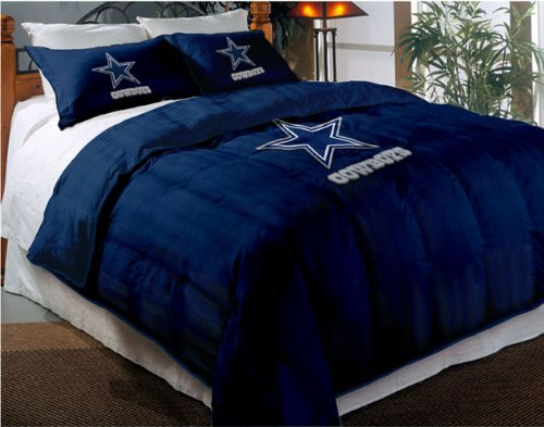 Dallas Cowboys Comforter Set: Twin Comforter with Shams