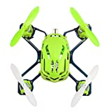 Voomall Hubsan NANO Q4 2.4GHz 4CH 6-Axis Gyro Super Mini Drone RC Quadcopter with Flashing Light For Kids Green