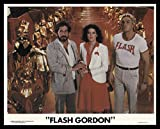 "Flash Gordon 1980 ORIGINAL MOVIE POSTER Action Adventure Sci-Fi - Dimensions: 8"" x 10"""