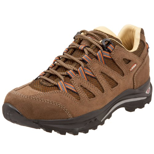 Lowa Women's Jannu Lo Trekking Shoe,Mocca/Orange,6.5 M US