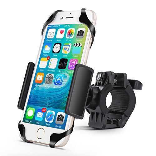Patea Bike mount,Universal smart Phone holder for Motorcycle,Bike Handlebars, strollers,treadmill,shopping cart,ATV phone mount (Motorcycle Ipod Accessories compare prices)