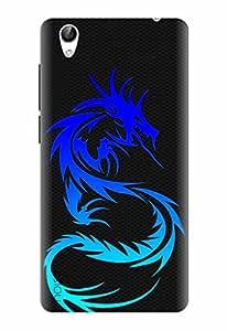 Noise Designer Printed Case / Cover for Vivo Y51L / Patterns & Ethnic / Dragon Design