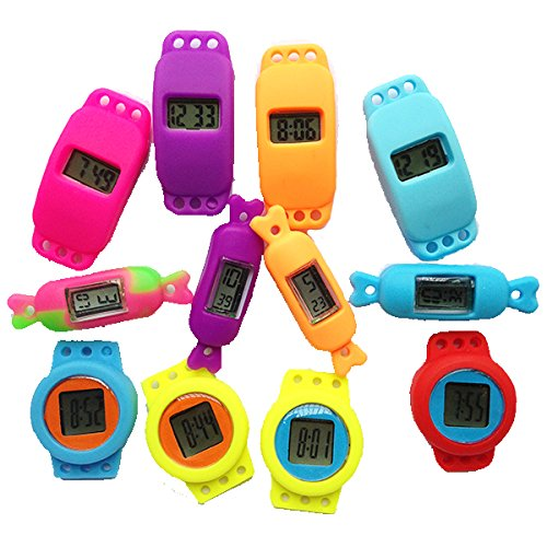Loom Watch Face Assortment - Multiple Designs and Colors / 15 Piece Pack