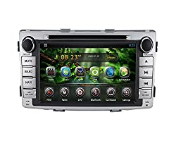 See Being Lucky G33ADTY06 6.9 inch Car Android 4.2 Double 2 Din DVD GPS Radio Navigation Stereo for Toyota Hilux 2012 with Free Map and 8G Card/ Details