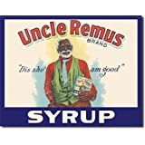 Uncle Remus Syrup Tin Sign , 16x13