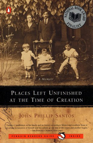 Places Left Unfinished at the Time of Creation, JOHN PHILLIP SANTOS
