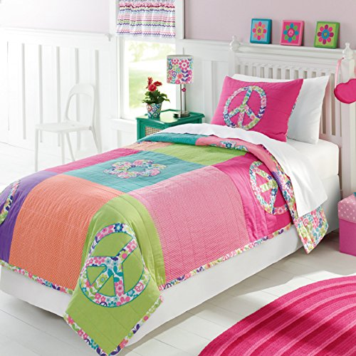FADFAY Home Textile Little Girls Fairy Bedding Sets Kids Cute Bedding Set Twin/Full