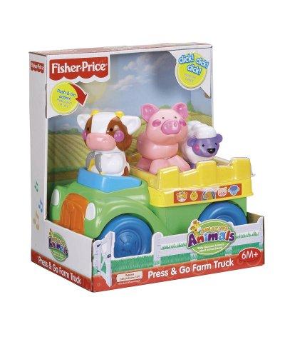 Imagen 4 de Fisher-Price - Push And Go camiones Granja (Mattel)