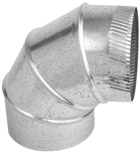 Speedi-Products SM-26A90 03 3-Inch 26-Gauge 90-Degree Round Adjustable Elbow