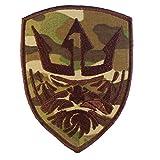 ウッドランド MOH キング ポセイドン Medal of Honor タクティカル モラール ベルクロ面ファスナー パッチ Patch