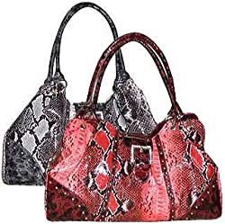 FASH Giraffe Print Faux Leather Tote Handbag-women Hand Bag,casual Bag,girls College Bag,shopping Bag