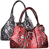 FASH Giraffe Print Faux Leather Tote Handbag-women Hand Bag,casual Bag,girls College Bag,shopping Bag ~ FASH Limited