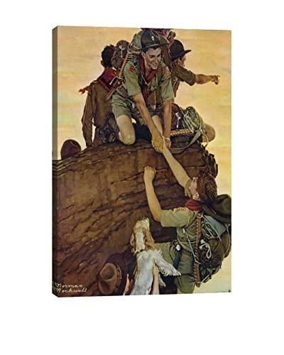 Norman Rockwell All Together Giclée Print