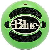 Micrófono Blue Snowball conexión USB, color Verde neon..