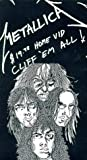 Metallica - Cliff 'Em All [VHS] [Import]