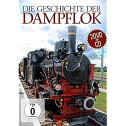 Die Geschichte der Dampflok [2DVD + CD]]