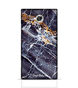 Stylebaby Case Caribbean Portoro Marble Back Cover for Sony Xperia SP Multicolor