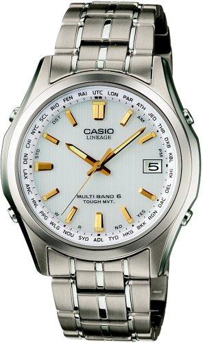 CASIO (カシオ) 腕時計 LINEAGE リニエージ TOUGH MVT ソーラー 電波時計 MULTIBAND6 LIW-T100TD-7AJF メンズ