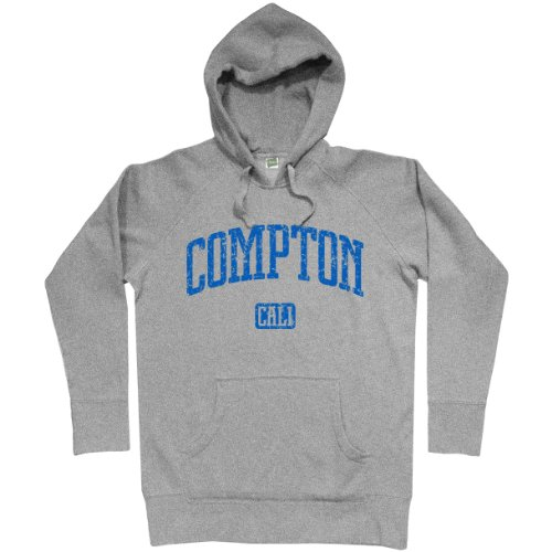 Smash transito Felpa con cappuccio Compton Cali Light Steel L