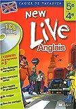 echange, troc Odile Playsmartin-Cocher - Cahier de vacances New Live : Anglais de la 5e à la 4e (1 livre + 1 CD audio)