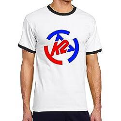 Ski Road Boy Casual Short Sleeve Tshirt Black