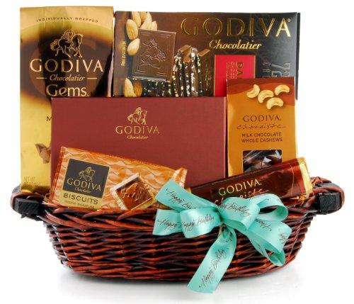 Buy Wine Godiva Happy Birthday Gift Basket