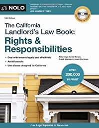The California Landlord's Law Book: Rights & Responsibilities