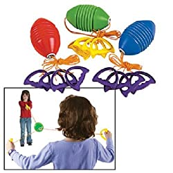 Fun Express Zoom Sliding Ball Family Game Slider (Assorted Colors)