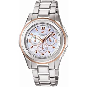 CASIO (カシオ) 腕時計 OCEANUS オシアナス Ladies Line レディースライン タフソーラー 電波時計 OCW-60DJ-7AJF レディース