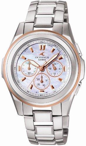 CASIO (カシオ) 腕時計 OCEANUS オシアナス タフソーラー 電波時計 OCW-60DJ-7AJF  レディース