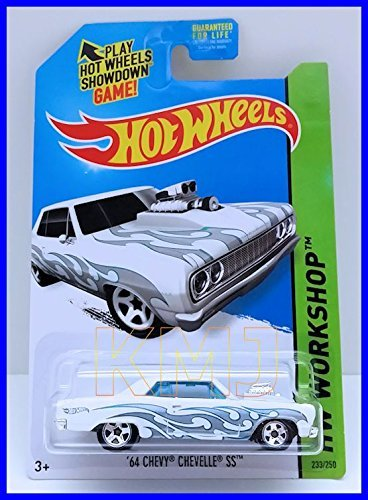 2014 Hot Wheels Hw Workshop '64 Chevy Chevelle SS - [Ships in a Box!]