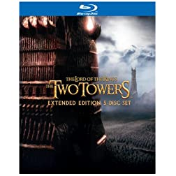 The Lord of the Rings: The Two Towers (Extended Edition 5-Disc Set) [Blu-ray]