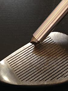 nU Groove Sharpener - Golf Club Groove Sharpener, Re-Grooving Tool and Cleaner.