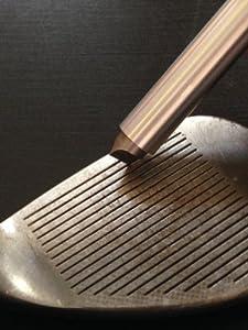 nU Groove Sharpener - Golf Club Groove Sharpener, Re-Grooving Tool and Cleaner.