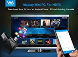 Viaplay Via-TV T2 Quad Core Bluetooth Android TV box Smart mini PC stick dongle Kodi 16.1 Jarvis fully loaded HDMI streaming Home media player