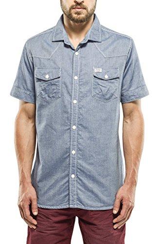 Petrol Industries Shirt SS, Camicia a Maniche Corte Uomo, 572, L