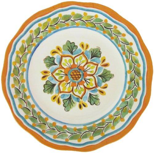 """Le Cadeaux San Miguel Crema 11"""" Dinner Plate"""