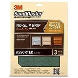3M SandBlaster Sandpaper Assortment Value Pack