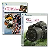 Blue Crane Digital Nikon D5100 DVD Instructional 2 Pack Volume 1, Video ~ Blue Crane Digital